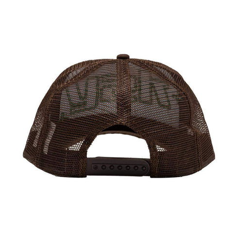 y2k Trucker Hat (Brown/White)