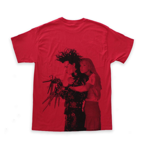 Edward Scissorhands Red Tee