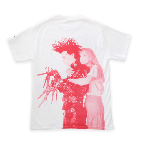 Edward Scissorhands White Tee
