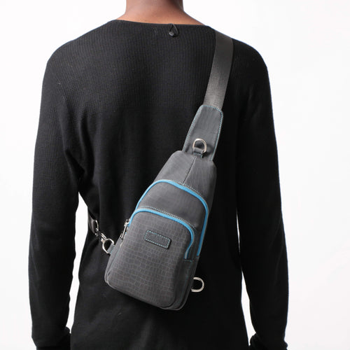 Black/Blue Heat Sensitive Bag