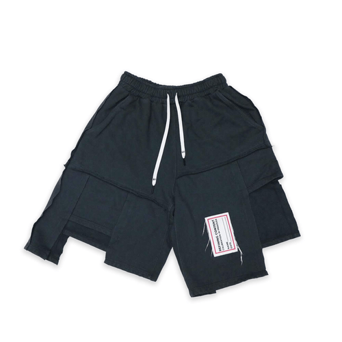 Process Patchwork Shorts