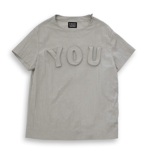 Light Gray YOU T-Shirt