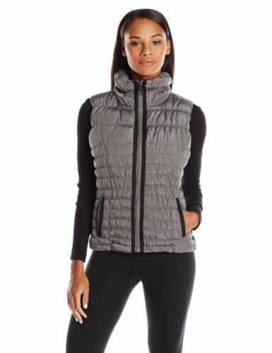 NWT Marc New York Performance Women's Straight-Zip Vest, Graphite Gray, X-Large