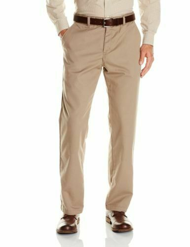 Dickies KHAKI Men's Comfort-Waist Relaxed-Fit Pant Pebble Brown 30W x 30L