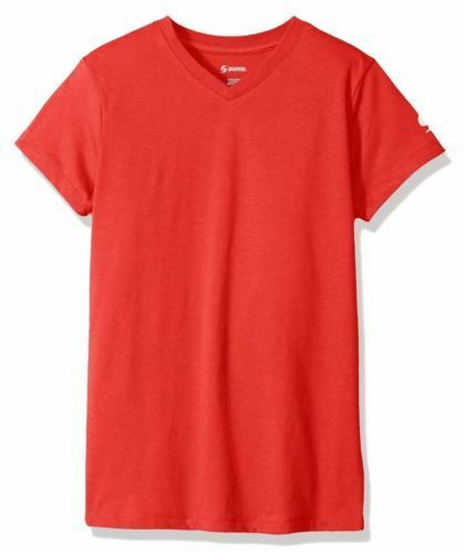 Soffe Big Girls' Small  Core Tee Red T-shirt NEW