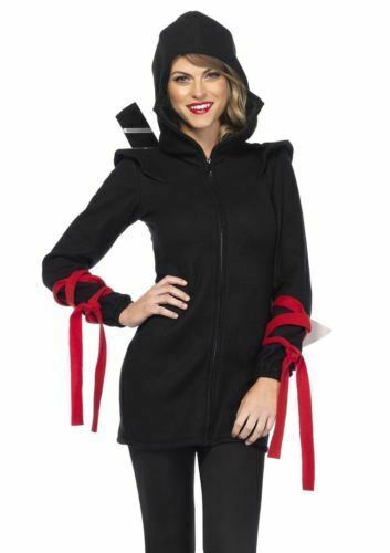 Leg Avenue Women's Cozy Ninja Costume, Large