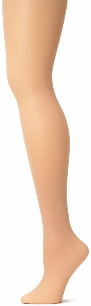 Capezio Women's Hold & Stretch Footed Tight, Light Suntan, Medium Tights Dance