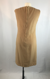Vintage 100% Camel Hair Sheath dress
