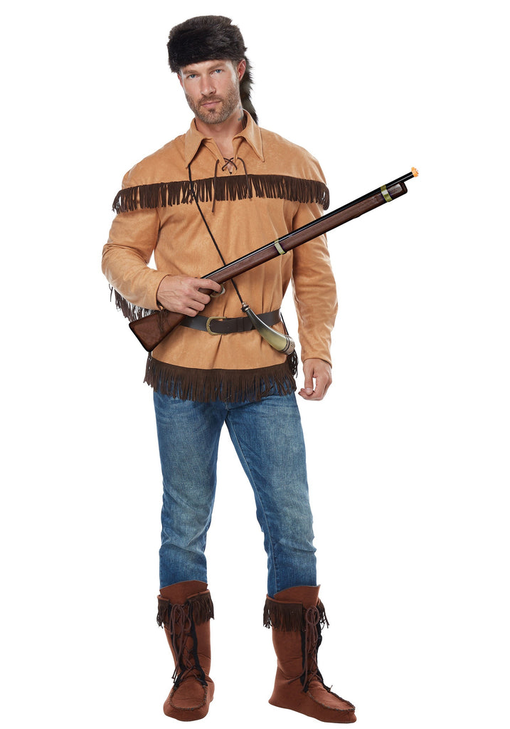Adult Davy Crockett Costume, Frontier Man - Nevermore Costumes