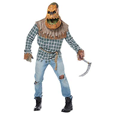 Adult Hunted Harvest Pumpkin Halloween Costume - Nevermore Costumes