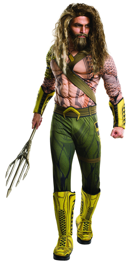 Deluxe Aquaman Costume, Batman V Superman: Dawn of Justice - Nevermore Costumes
