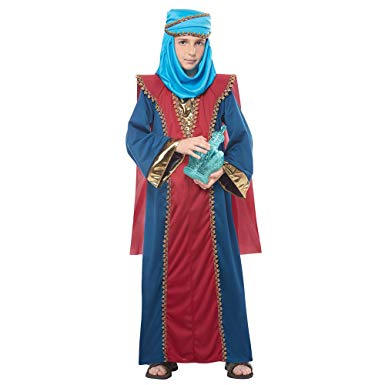 Balthasar Wise Man Boys Costume/ Three Kings - Nevermore Costumes