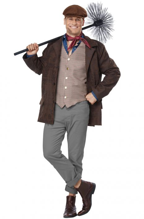 Chimney Sweep Costume, Plus Size - Nevermore Costumes
