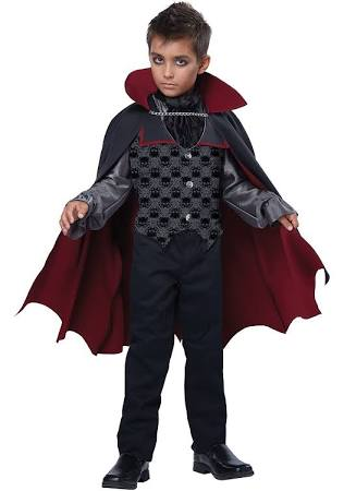 Count Bloodfiend, Child Vampire Costume - Nevermore Costumes
