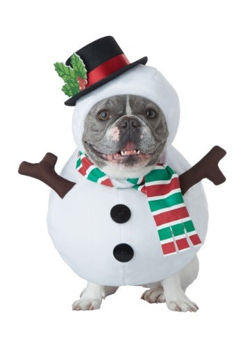 Winter Snowman Dog Costume - Nevermore Costumes