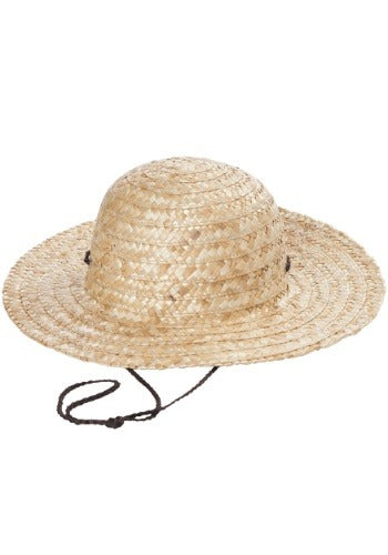 Child's Straw Hat - Nevermore Costumes