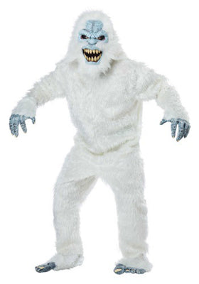Yeti Snow Beast Adult Costume, Abominable Snowman - Nevermore Costumes