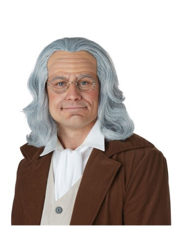 Benjamin Franklin Adult Wig - Nevermore Costumes