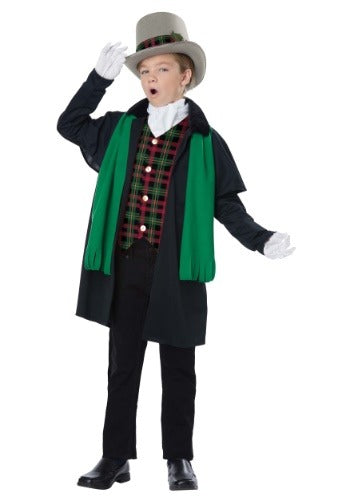 Boys Holiday Christmas Caroler Costume - Nevermore Costumes
