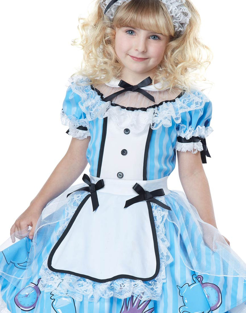Child Alice Costume, Alice in Wonderland - Nevermore Costumes