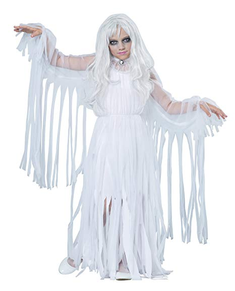 Ghostly Girl Child Costume - Nevermore Costumes
