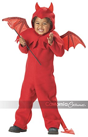 California Costumes Lil' Spitfire Costume Toddler - Nevermore Costumes