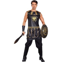 Mens Roman Deadly Warrior Costume, Plus Size - Nevermore Costumes