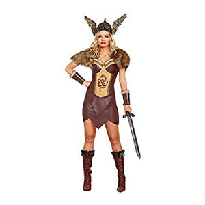 Women's Voracious Viking Costume - Nevermore Costumes