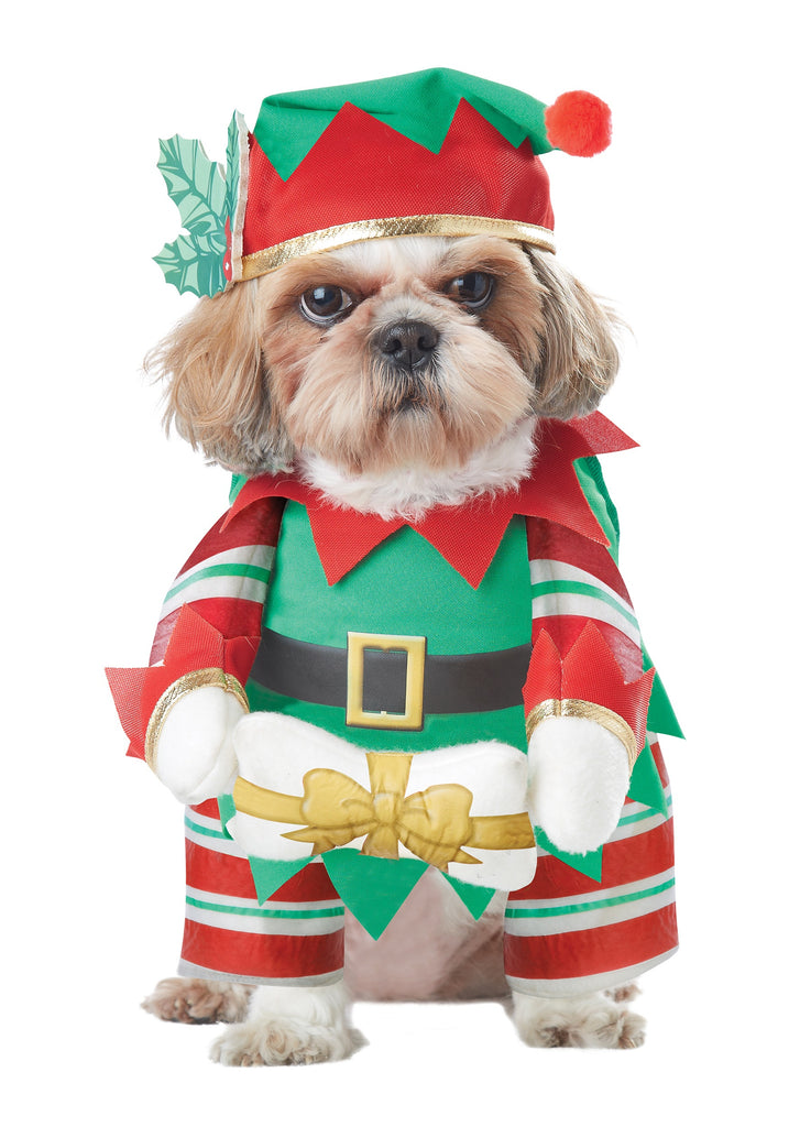 Elf Pup Dog Costume - Nevermore Costumes