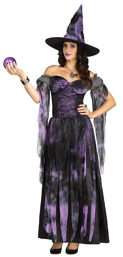 Purple Starlight Witch Costume - Nevermore Costumes