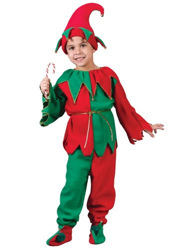 Child Holiday Elf Costume - Nevermore Costumes