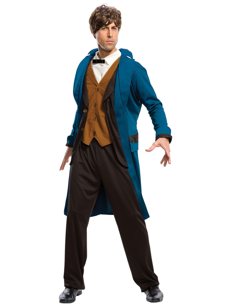 Fantastic Beasts and Where To Find them - Newt Deluxe Adult Costume - Nevermore Costumes