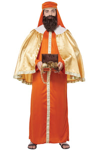 Gaspar Wise Man Costume, Three Kings - Nevermore Costumes