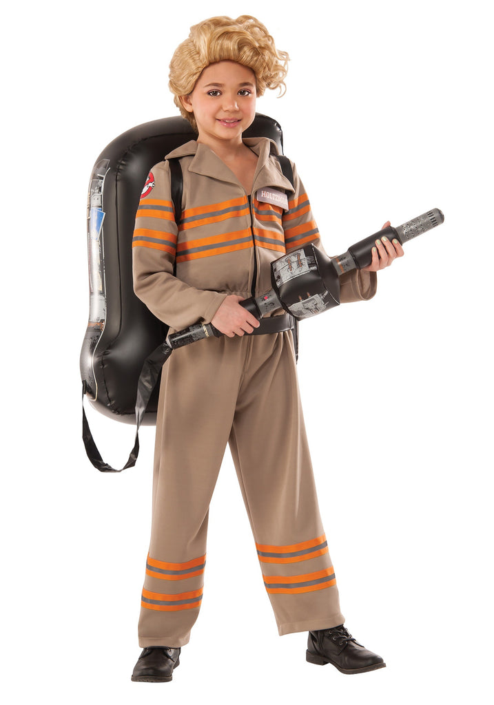 Girls Deluxe Ghostbuster's Movie Costume - Nevermore Costumes