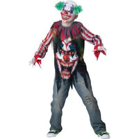 Big Top Terror Child Costume, Evil Clown - Nevermore Costumes