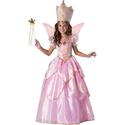Elite Fairy Godmother Costume, Glinda the Good Witch - Nevermore Costumes