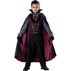 Midnight Count Dracula Costume, Child - Nevermore Costumes