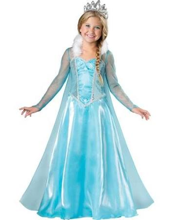 Snow Princess Costume, Elsa Frozen - Nevermore Costumes