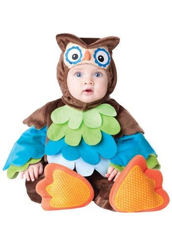 What a Hoot Infant/Toddler Owl Costume - Nevermore Costumes