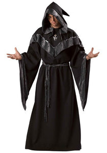 Dark Sorcerer Robe, Men's - Nevermore Costumes