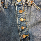 Vintage Pepe Jeans London, Button fly High Waist Mom Jeans, Pageant 28