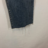Calvin Klein Mid Rise Dirty Wash Womens Jeans, 100% Cotton Denim size 2