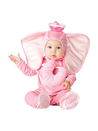 Baby Pink Elephant Costume - Nevermore Costumes