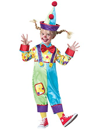 Toddler Clown Baby Costume - Nevermore Costumes