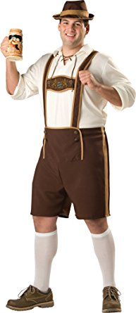 InCharacter Costumes Men's Plus Size Bavarian Guy - Nevermore Costumes