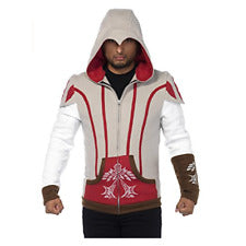 Assassin's Creed II Ezio Hooded Jacket - Nevermore Costumes
