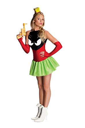 Women's Looney Tunes Marvin The Martian Costume - Nevermore Costumes