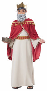 Boys Melchior Wise Man Costume, Three Kings - Nevermore Costumes