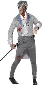 Men's Zombie Gent Costume - Nevermore Costumes