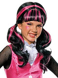 Monster High Child's Draculaura Costume Wig - Nevermore Costumes